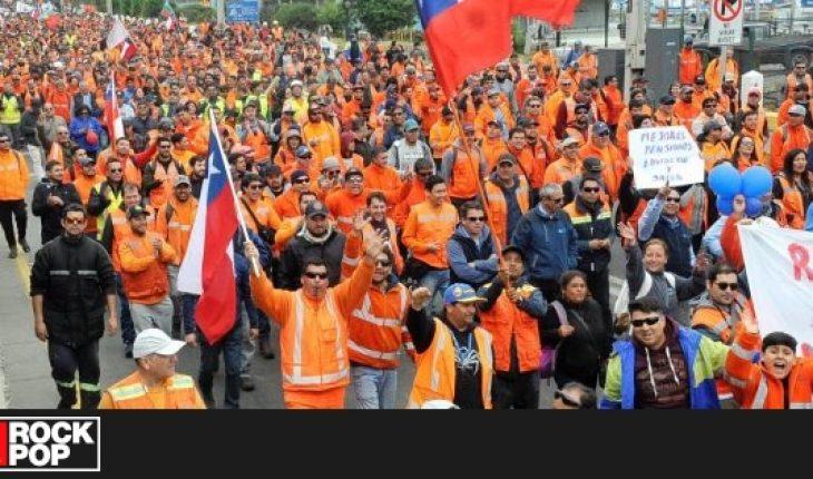 Unión Portuaria de Chile comienza paro por requerimiento al TC