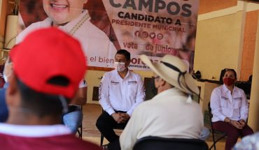 Vengo aquí a escuchar sus necesidades, porque quiero dar prioridad a lo que la merece: Nacho Campos