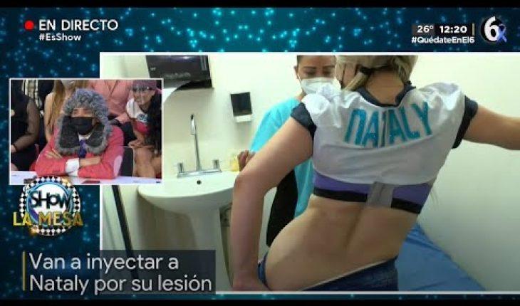 ¡Inyectan a Nataly en vivo! | Es Show