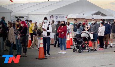 COVID-19: Florida empezó a vacunar a todos los mayores de 18 años