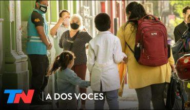 CRUCES POR LA PRESENCIALIDAD EN LAS AULAS: ¿Se rompió el diálogo? - A DOS VOCES