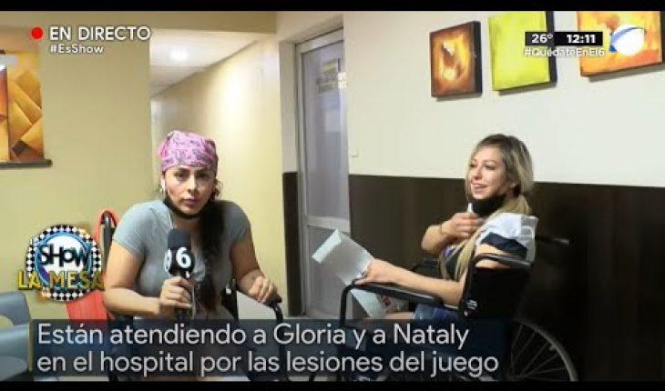 Gloria y Nataly sufren terribles lesiones   Es Show
