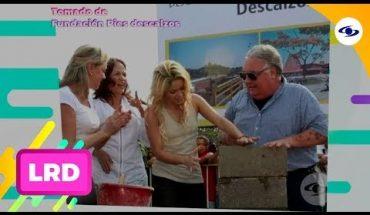 La Red: La Fundación Pies Descalzos estuvo en la mente de Shakira desde niña - Caracol TV