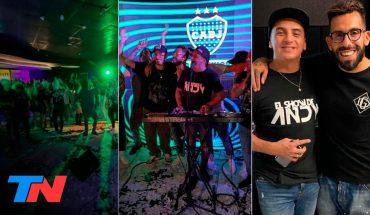 Polémica fiesta  en la casa de Carlos Tevéz con una banda en vivo y más invitados de los permitidos