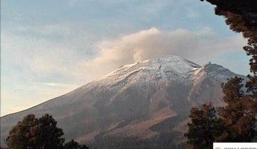 Volcán Popocatépetl registró 42 exhalaciones en las últimas 24 horas