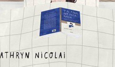 Y al final no pasa nada, libro relajante de Kathryn Nicolai