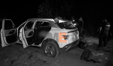 Mueren 5 en enfrentamiento a balazos en Tangamandapio, Michoacán