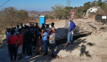 Colonists report green and sports area in Mazatlan