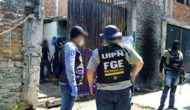 Detiene Fiscalía General a cinco personas por delitos Contra la Salud; cuatro tienen orden de aprehensión por homicidio en Guanajuato