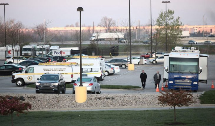 Eight people were killed in shooting at a U.S. post office
