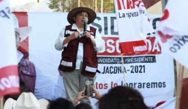 Morena candidate dies during proselytizing act in Michoacán