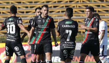 Palestinian rescued his first championship win over Deportes Melipilla
