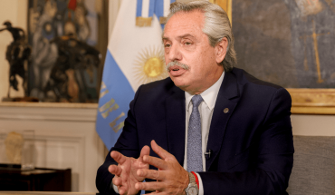 Presidency confirmed that Alberto Fernández's PCR test tested positive