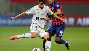 San Lorenzo equaled Santos 2-2 in Brasilia and will play South American
