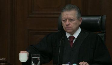 So the Senate extended Zaldívar's presidency at the SCJN