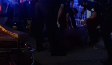 Stabbed and fractured man is assisted in Mazatlan