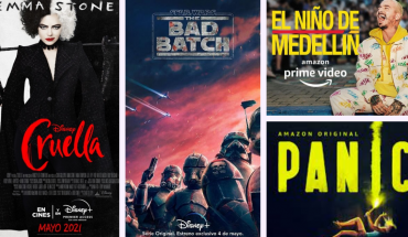 These are the film and series premieres coming in the coming days