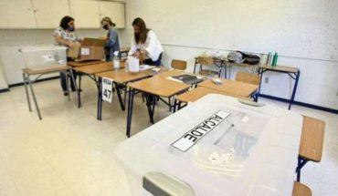 Aconsejan bajar mascarilla sólo 3 segundos en local de votación