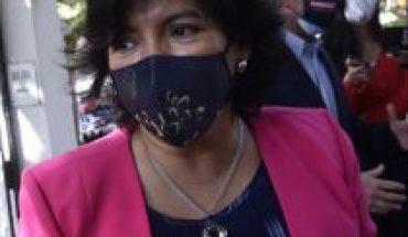 """Ad portas de cita de la oposición Provoste raya la cancha de los mínimos comunes: aclara que indulto """"es una conversación de más largo plazo y no forma parte"""" de esta agenda"""