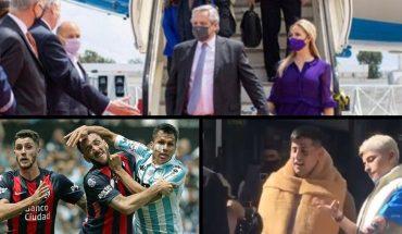 Alberto Fernández llegó a Portugal; Llegarán 500 mil dosis de Sputnik V; Cristina Kirchner es la presidenta del país y mucho más...