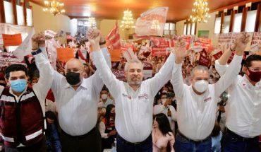 Alfredo Bedolla se reúne con sindicatos de educación y salud