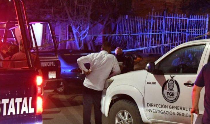 Asesinan a balazos a joven en Labastida Ochoa Culiacán