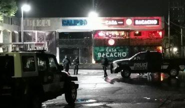 Asesinan a balazos a tres hombres y hieren a otro en un bar, en Cuernavaca
