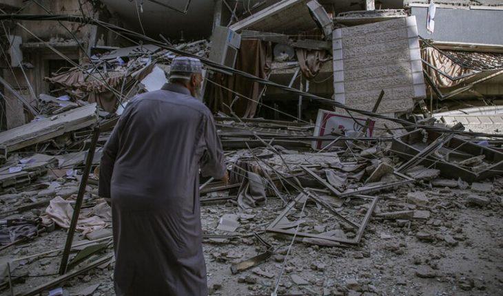Aumentan a 217 los muertos por los bombardeos de Israel contra la Franja de Gaza