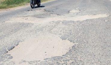 Carretera a Bacorehuis en Ahome está gravemente deteriorada