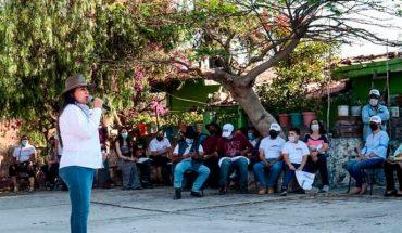 Churintzio necesita compromisos reales y no promesas: Alejandra Pimentel