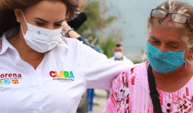 Clara Luz propone incentivar contratación de adultos mayores