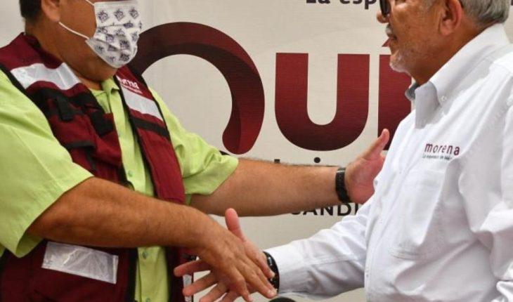 Declina candidato de PV en Mazatlán; se une a Químico Benítez