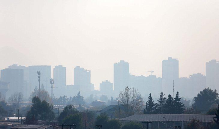 Decretan Alerta Ambiental para este domingo en la Región Metropolitana