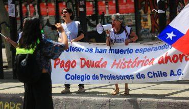 Deuda Histórica: CIDH revisará caso de 848 profesores que demandaron a Chile