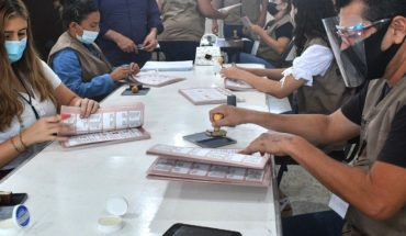 El 99.4% de funcionarios de casilla están listos en Mazatlán
