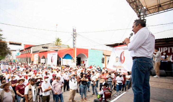 El pueblo ya decidió que sea MORENA quien gobierne Michoacán, asegura Raúl Morón