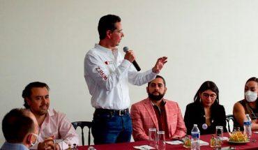 Empresarios por la Transformación muestran apoyo a Iván Pérez Negrón