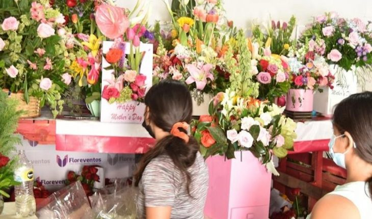 Floristas esperan repunte en ventas del 50% el 10 de mayo