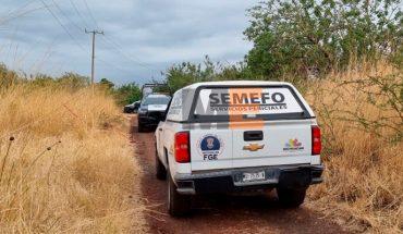 Hallan cadáver encobijado en brecha al Sur de Zamora, Michoacán