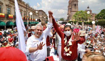 Ignacio Campos destaca cierre contundente de campaña de Ramírez Bedolla en Morelia