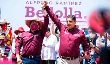 Ignacio Campos recibe dirigente nacional de Morena en Uruapan, Michoacán