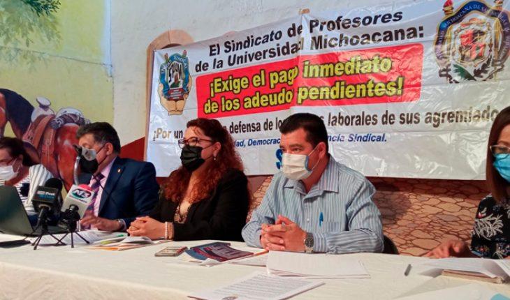 Investigación por peculado exigirán profesores a dirigencia revocada de SPUM