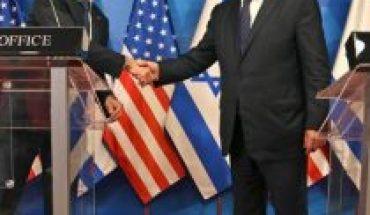 Jefe de la diplomacia estadounidense visita Israel y Cisjordania