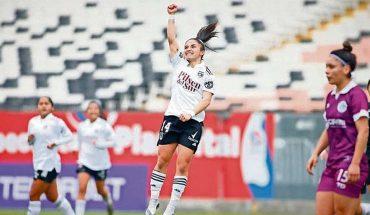 La Reina del TikTok brilló en la goleada de Colo Colo en el reinicio del fútbol femenino nacional