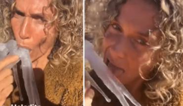 """Maru Botana habló de su video viral chupando un hielo: """"Me parecía muy gracioso"""""""