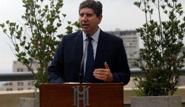 Ministro de Hacienda llamó a tomar con cautela el crecimiento económico de marzo