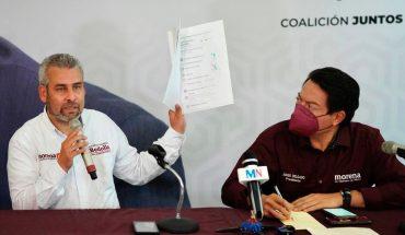 Morena denunciará a Aureoles por amenazas a candidato en Michoacán