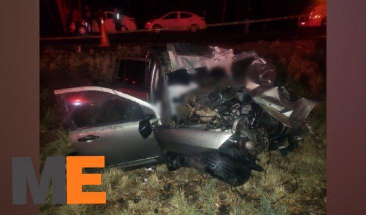 Mueren 2 personas tras accidente vehicular en la Morelia-Pátzcuaro