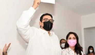 Óscar Camacho, candidato a la alcaldía de Mocorito