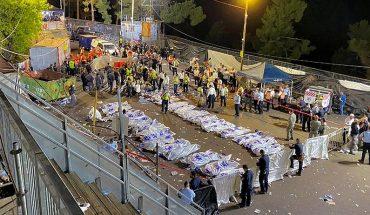 Papa lamenta estampida en Israel en evento religioso que provocó 45 fallecidos